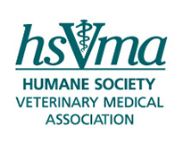 Logo for the Human Society Veterinary Medical Association